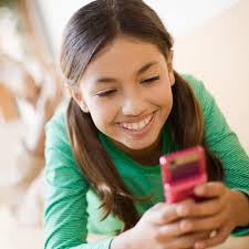 Child keeping in touch with incarcerated parent